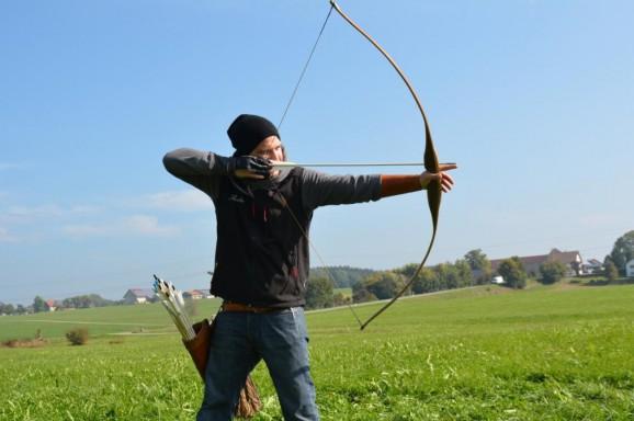 Bogenschützen für Hoffnung Kindheit