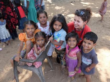 Ruth Reischmann in der Slumschule