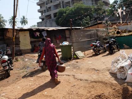 Slum in Panjim