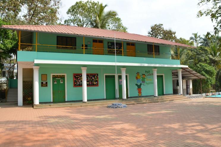 Die neuen Klassenzimmer im Obergeschoss.