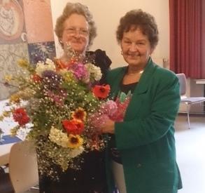 Anita Edgar zu Besuch in Deutschland
