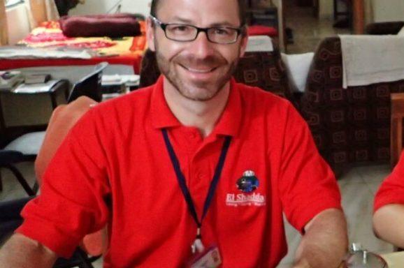 Volunteer Hans in Indien