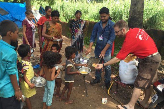 Volunteer-Arbeit: Meal on wheels