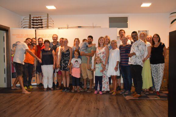 El Shaddai Gründer Matthew Kurian zu Besuch