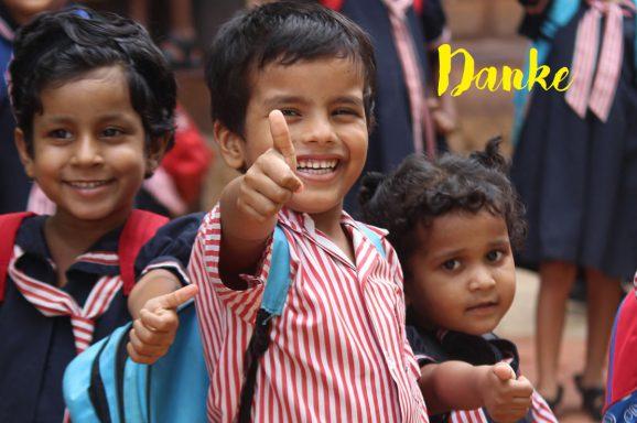 Vielen Dank für Ihre anhaltende Unterstützung; Update aus Indien