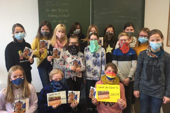 894 warme Mahlzeiten durch die Realschule Kißlegg